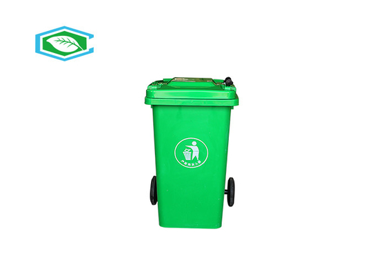 Virgin HDPE 100 Liter 20 Gallon Trash Can Eco Friendly Konstruksi Tembok Berat