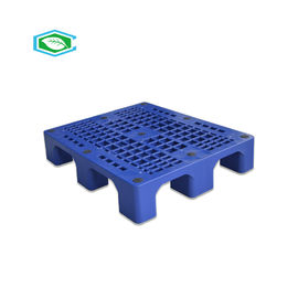 Rackable 4 Way Reusable Plastic Pallet Tunggal Menghadapi 2 Ton Kapasitas Beban Statis